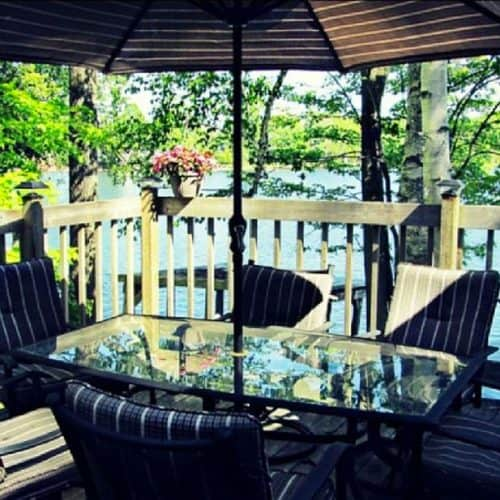Outdoor Deck Seating